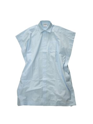 <img class='new_mark_img1' src='https://img.shop-pro.jp/img/new/icons14.gif' style='border:none;display:inline;margin:0px;padding:0px;width:auto;' />HED MAYNER SQUARE BOTTONED LONG SHIRT (BLU)