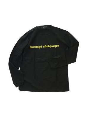 <img class='new_mark_img1' src='https://img.shop-pro.jp/img/new/icons14.gif' style='border:none;display:inline;margin:0px;padding:0px;width:auto;' />Diaspora skateboards Long Letter L/S Tee (BLK)