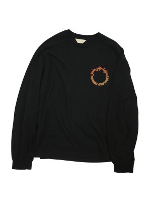 <img class='new_mark_img1' src='https://img.shop-pro.jp/img/new/icons14.gif' style='border:none;display:inline;margin:0px;padding:0px;width:auto;' />JieDa  CIRCLE L/S T-SHIRT (BLK)