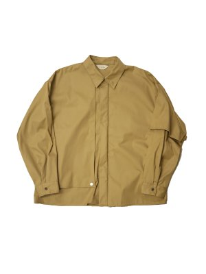 <img class='new_mark_img1' src='https://img.shop-pro.jp/img/new/icons14.gif' style='border:none;display:inline;margin:0px;padding:0px;width:auto;' />JieDa T/C FLAP SHIRT (BEI)