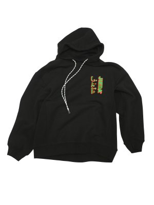 <img class='new_mark_img1' src='https://img.shop-pro.jp/img/new/icons14.gif' style='border:none;display:inline;margin:0px;padding:0px;width:auto;' />JieDa LOGO HOODIE (BLK)