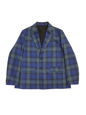 <img class='new_mark_img1' src='https://img.shop-pro.jp/img/new/icons14.gif' style='border:none;display:inline;margin:0px;padding:0px;width:auto;' />JieDa TARTAN CHECK TAILORED JACKET