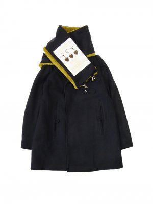 <img class='new_mark_img1' src='https://img.shop-pro.jp/img/new/icons14.gif' style='border:none;display:inline;margin:0px;padding:0px;width:auto;' />YUKI HASHIMOTO SCARF ATTACHED PEACOAT