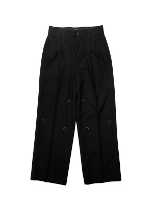 <img class='new_mark_img1' src='https://img.shop-pro.jp/img/new/icons14.gif' style='border:none;display:inline;margin:0px;padding:0px;width:auto;' />Feng Chen Wang WOOL TWILL TROUSERS
