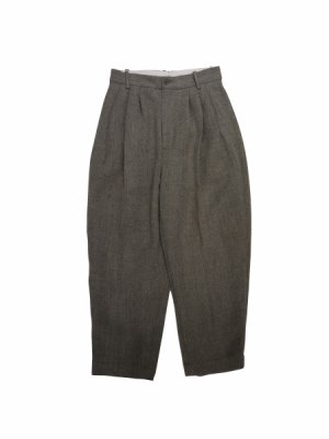 [40%OFF] HED MAYNER 4 PLEAT PANTS
