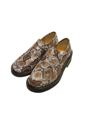JieDa SNAKE LOAFERS *21SS COLLECTION