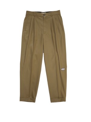 JieDa 2TUCK TAPERED PANTS (GRE)