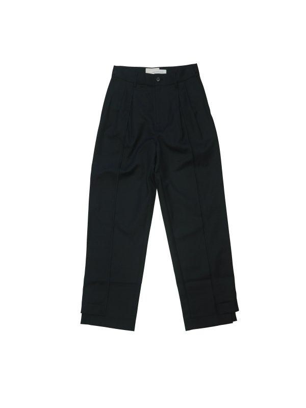 Feng Chen Wang WOOL BLEND PANELLED SUIT PANTS