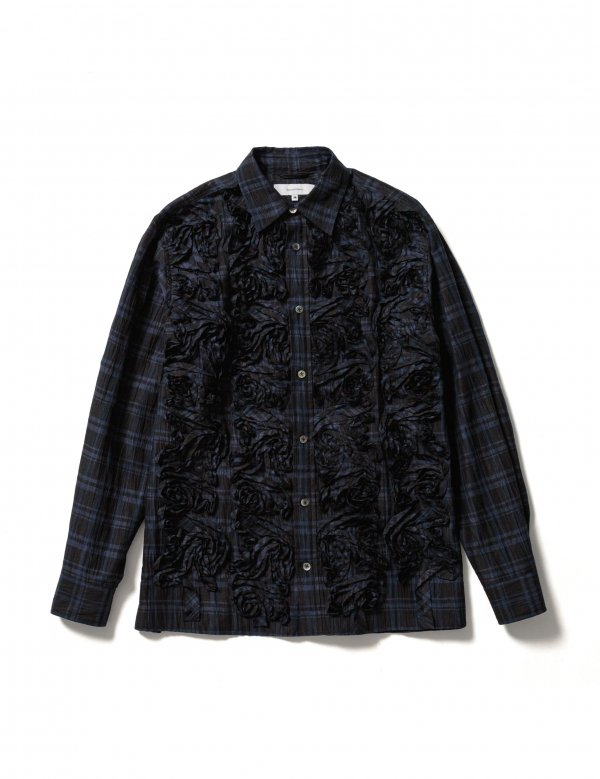 Sasquatchfabrix. TAPE EMBROIDERY L/S SHIRT (N/C)