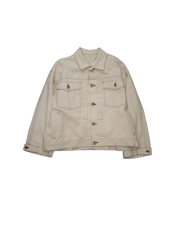 KANIZSA COTTON CANVAS WORK JACKET