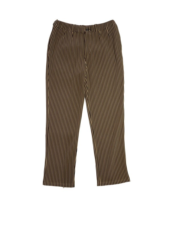 JieDa RIPPLE TAPERED PANTS (BEI)