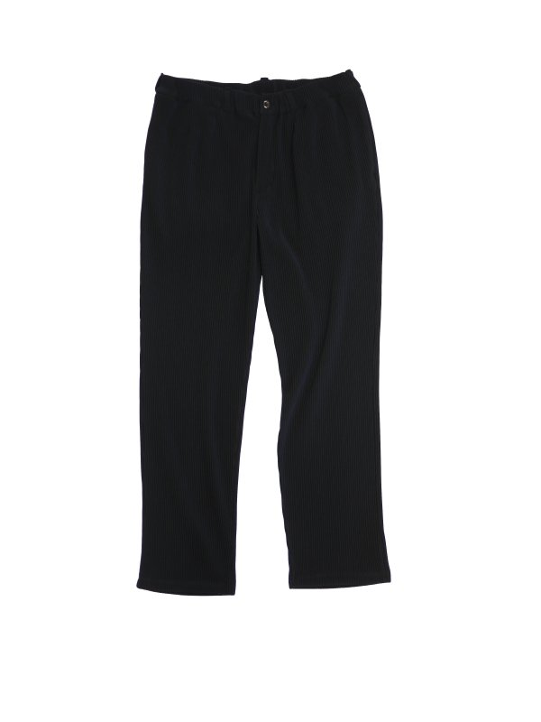 JieDa RIPPLE TAPERED PANTS (BLK)