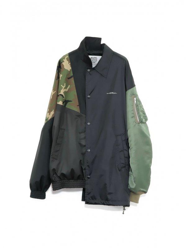 [30%OFF] elephant TRIBAL fabrics HYBRID JKT (BLK)