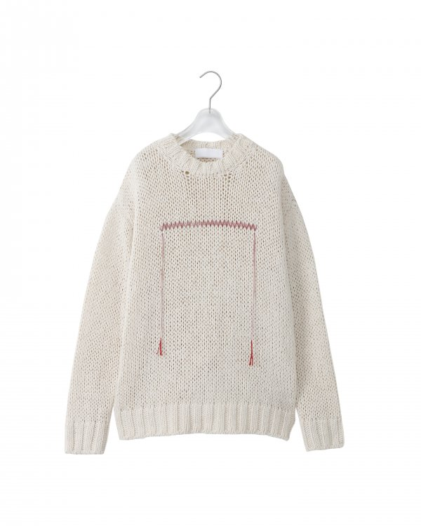 NEON SIGN Ne QUILTED SWEATER (PAL)