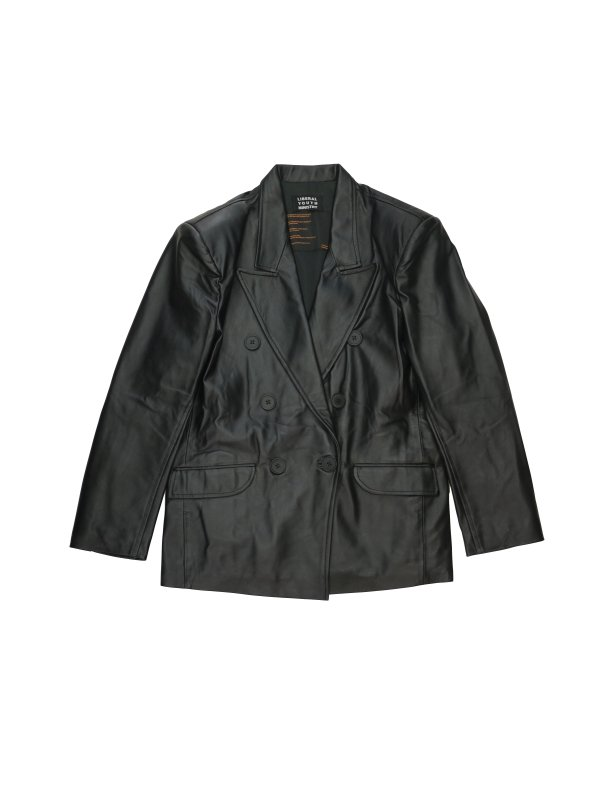 LIBERAL YOUTH MINISTRY WIDE LEATHER BLAZER