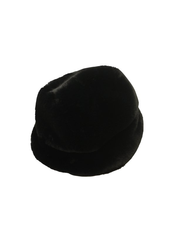 LIBERAL YOUTH MINISTRY BLACK FAUX FUR HAT