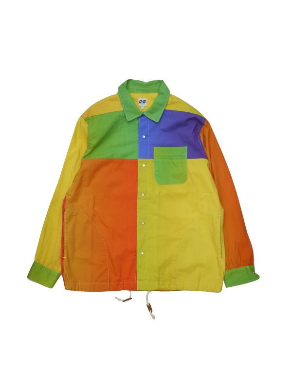 AiE Coach Shirt - Big Rainbow Print
