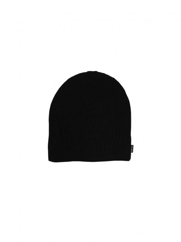WHIMSY SINGLE BEANIE (BLK)
