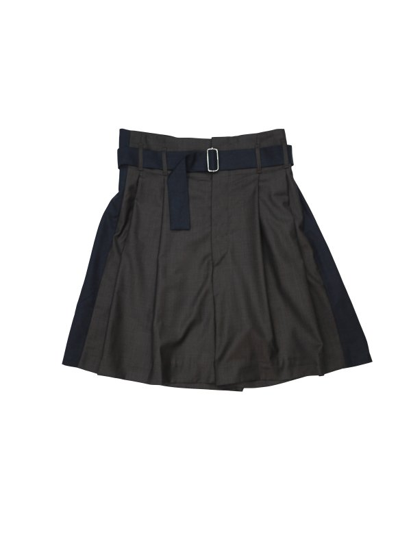 HED MAYNER PLEATED SHORT (G/B)