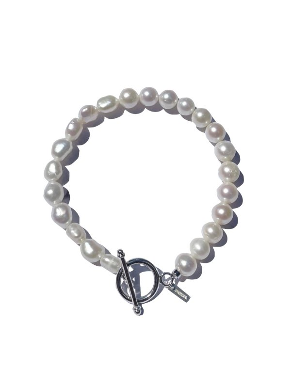 "EPHEMERAL ""freshwater"" switching pearl bracelet"