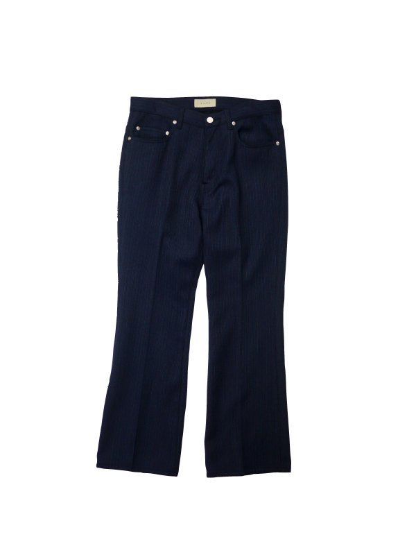 JieDa STRIPE FLARE PANTS (N/S)