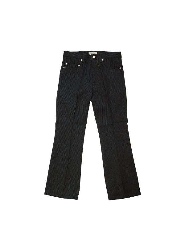 JieDa STRIPE FLARE PANTS (B/S)