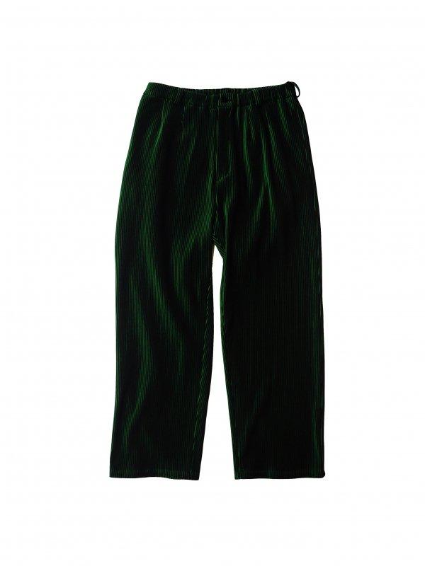 JieDa RIPPLE WIDE PANTS (B/G)