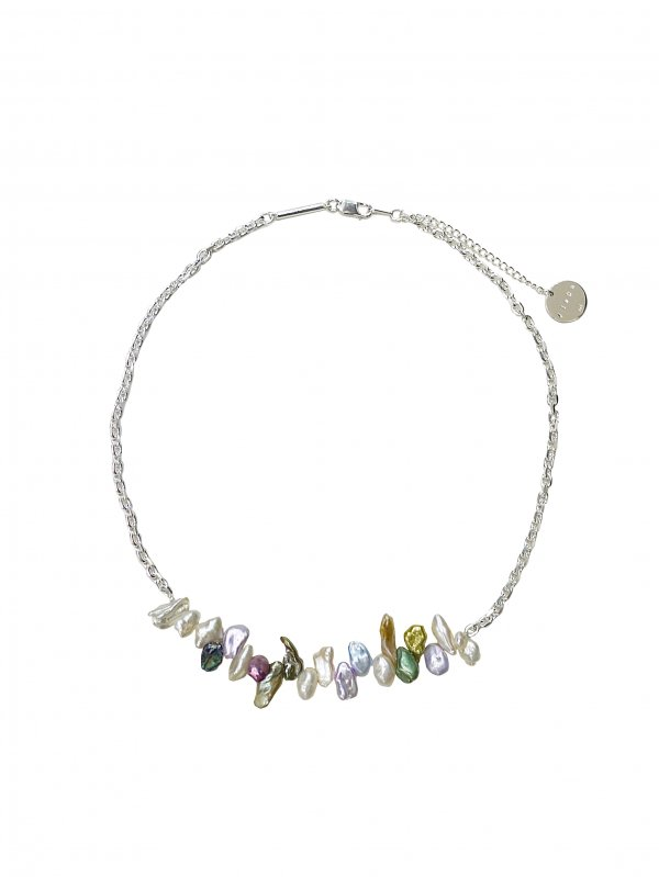 JieDa SWITCHING FRESH PEARL NECKLACE