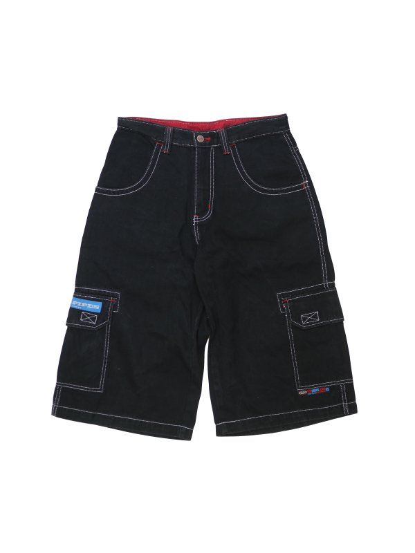 USED Lee pipes DENIM SHORTS