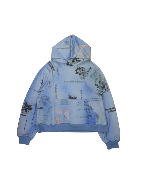 LIBERAL YOUTH MINISTRY BLUE HEAVEN HOODIE