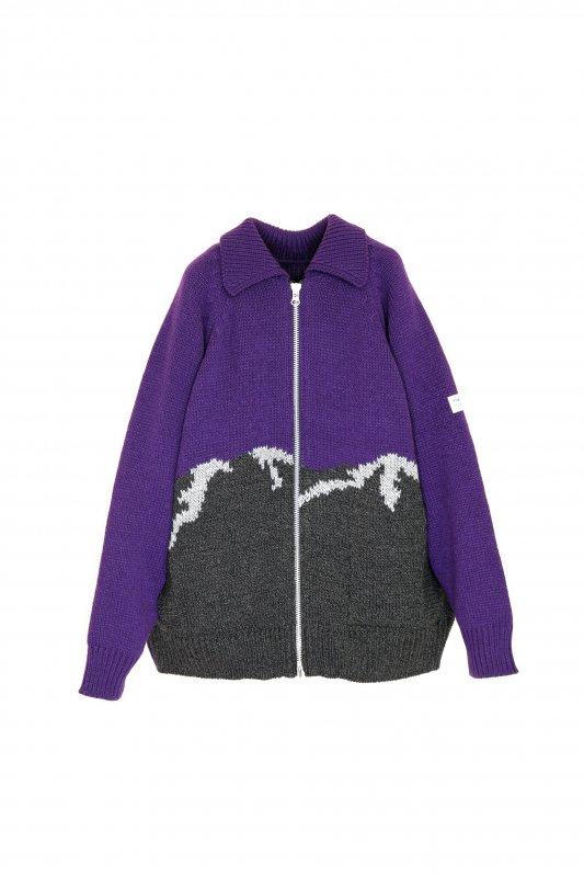 elephant TRIBAL fabrics William Cowichan sweater (PUR)
