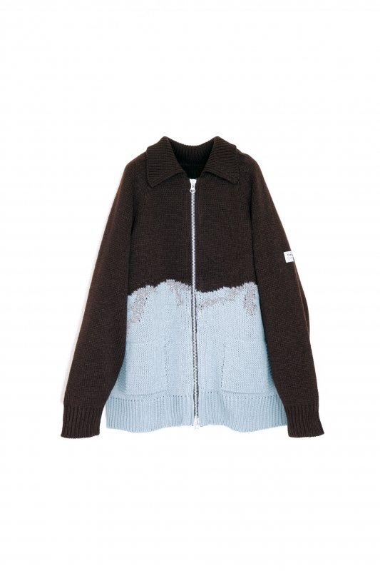 elephant TRIBAL fabrics William Cowichan sweater (BRO)