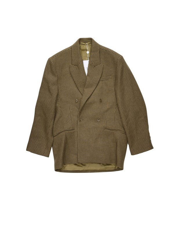 HED MAYNER DROPPED BACK DOUBLE BREASTED JACKET (B/H)