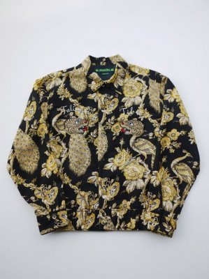 <img class='new_mark_img1' src='//img.shop-pro.jp/img/new/icons47.gif' style='border:none;display:inline;margin:0px;padding:0px;width:auto;' />Sasquatchfabrix. ORIENTAL TIGER SHIRTS JACKET (PEA)