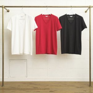 <img class='new_mark_img1' src='//img.shop-pro.jp/img/new/icons14.gif' style='border:none;display:inline;margin:0px;padding:0px;width:auto;' />UNUSED COTTON STANDARD V-NECK T-SHIRT