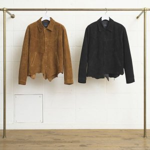 <img class='new_mark_img1' src='http://kikunobu.shop-pro.jp/img/new/icons14.gif' style='border:none;display:inline;margin:0px;padding:0px;width:auto;' />UNUSED��COW SUEDE JACKET