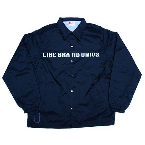 LIBE BRAND UNIVS. - QP BASIC COACH JACKET (Navy)