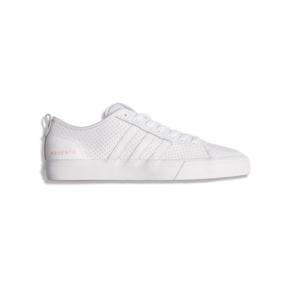 adidas Skateboarding x MAGENTA SHOES MATCHCOURT RX (White/Leather)