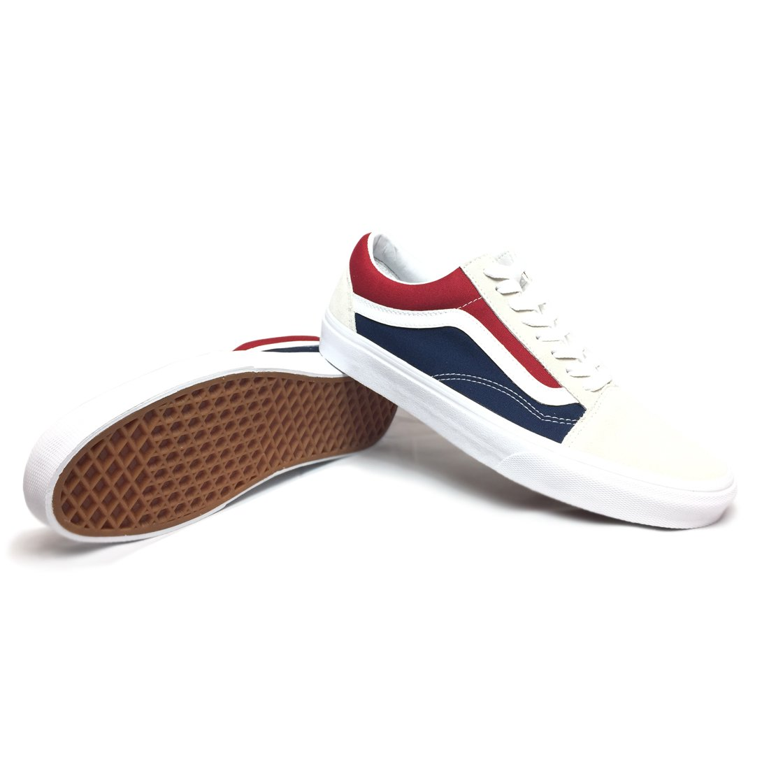 VANS - RETRO BLOCK (white/red/dress b...