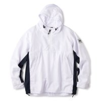 <img class='new_mark_img1' src='https://img.shop-pro.jp/img/new/icons22.gif' style='border:none;display:inline;margin:0px;padding:0px;width:auto;' />FTC - WORLD WIDE ANORAK JACKET (White)の商品画像