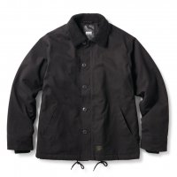 <img class='new_mark_img1' src='https://img.shop-pro.jp/img/new/icons22.gif' style='border:none;display:inline;margin:0px;padding:0px;width:auto;' />FTC - N-1 DECK JACKET (Black)の商品画像