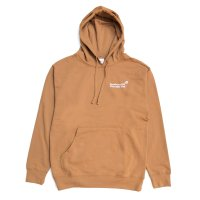 <img class='new_mark_img1' src='https://img.shop-pro.jp/img/new/icons8.gif' style='border:none;display:inline;margin:0px;padding:0px;width:auto;' />STRAWBERRY HILL PHILOSOPHY CLUB - EMBROIDERED HOODIE (Brown)の商品画像
