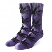 <img class='new_mark_img1' src='https://img.shop-pro.jp/img/new/icons8.gif' style='border:none;display:inline;margin:0px;padding:0px;width:auto;' />HUF - TIEDYE PLANTLIFE SOCK (Purple)の商品画像