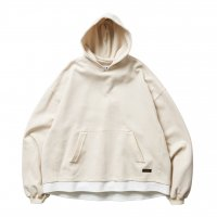 <img class='new_mark_img1' src='https://img.shop-pro.jp/img/new/icons8.gif' style='border:none;display:inline;margin:0px;padding:0px;width:auto;' />TIGHTBOOTH - SMOOTH LAYERED HOODIE (White) の商品画像