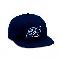 <img class='new_mark_img1' src='https://img.shop-pro.jp/img/new/icons8.gif' style='border:none;display:inline;margin:0px;padding:0px;width:auto;' />QUARTER SNACKS - RACER CAP (Navy)の商品画像