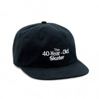 <img class='new_mark_img1' src='https://img.shop-pro.jp/img/new/icons8.gif' style='border:none;display:inline;margin:0px;padding:0px;width:auto;' />QUARTER SNACKS - 40 YEAR OLD CAP (Black)の商品画像