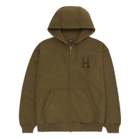 <img class='new_mark_img1' src='https://img.shop-pro.jp/img/new/icons8.gif' style='border:none;display:inline;margin:0px;padding:0px;width:auto;' />HUF - OD CLASSIC H FULL ZIP HOODIE (Toffee)の商品画像