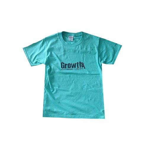 Growth - 10周年記念 キッズTシャツ (Aqua)