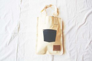 spoken words project スポークンワーズプロジェクト flat tote pocket(S) [50%OFF]