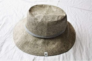 ■and wander アンドワンダー paper cloth hat